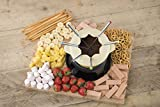 Kitchen Craft Emailliertes Fondue-Set - 3