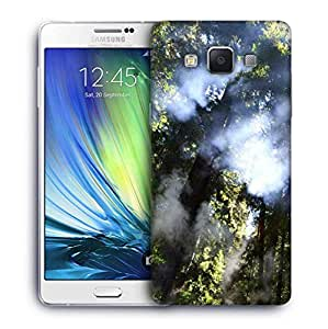 Snoogg Smoked Forest Designer Protective Phone Back Case Cover For Samsung Galaxy ON5