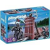 Playmobil - 4869 - Jeu de construction - Chariot d'assaut des chevaliers du Faucon
