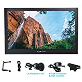 WIMAXIT 13.3 Inch IPS 1920X1080 16:9 Display Aluminum Housing HDMI Monitor Screen Game Monitor for PS3/PS4/X box /Raspberry PI