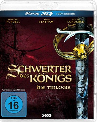 Schwerter des Königs - Die Trilogie - 3 Discs 3D Blu-ray & 2D Version