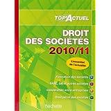 Droit des sociétés 2010-2011