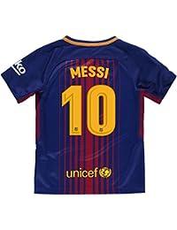 Camiseta 1ª Equipación Replica Oficial FC BARCELONA 2017-2018 Dorsal MESSI  - Tallaje ... d334c5807c52a
