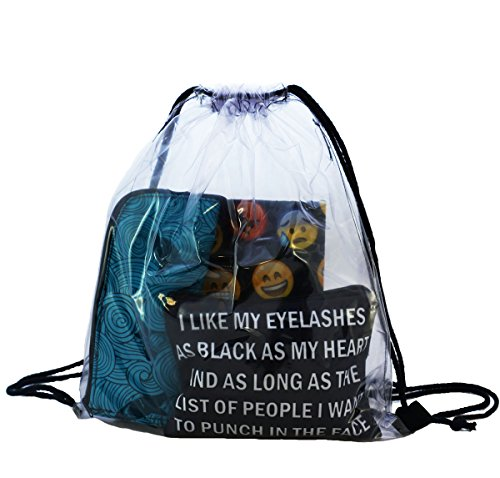 Imagen de fullprint gimnasio nadar escuela deporte cincha saco bolsas  hipster transparente [010]