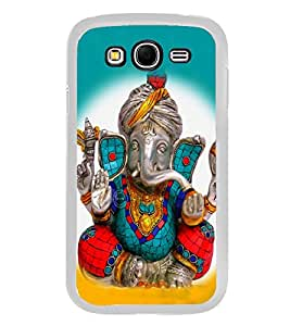 Ganpati 2D Hard Polycarbonate Designer Back Case Cover for Samsung Galaxy Grand I9082 :: Samsung Galaxy Grand Z I9082Z