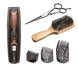 remington mb4045 beard kit beard trimmer mixed boar bristle beard comb and stainless steel. Black Bedroom Furniture Sets. Home Design Ideas