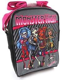 Monster High [J8358] - Sac bandoulière 'Monster High' noir rose gris