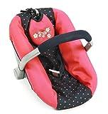 Bayer Chic 2000 708 11 - Puppen-Autositz, Dots, blau/Koralle