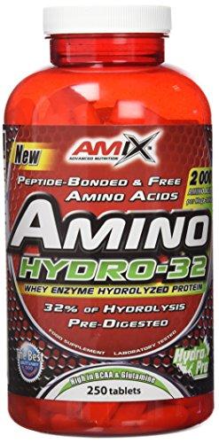 Amix 8594159534698 - Amino Hydro 32 Aminoácidos Puros Hidrolizados