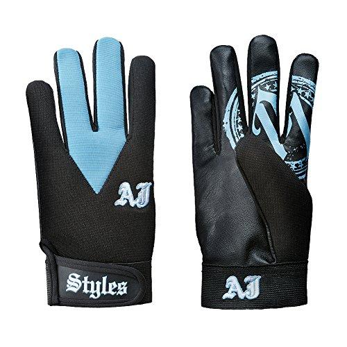 WWE AJ styles Carolina Azul Réplica Guantes