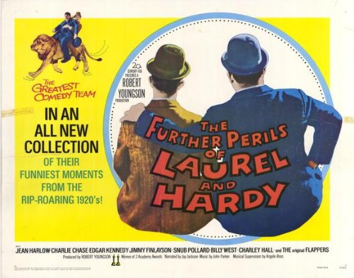the-further-perils-of-laurel-and-hardy-affiche-du-film-poster-movie-les-plus-loin-perils-del-laurier