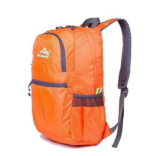 SZH&BEIB Faltbare Außen Rucksack Wasserdichte Nylon für Reit Tasche Klettern Wandern Wasser-Beutel B