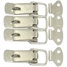 SODIAL(R) 4 x Cerradura Cierre para Hardware Gabinete Cajas