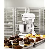 KitchenAid Professional 5KSM7591XBWH 325-Watt Stand Mixer (White)