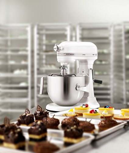 KitchenAid Professional 5KSM7591XBWH 325-Watt Stand Mixer (White)