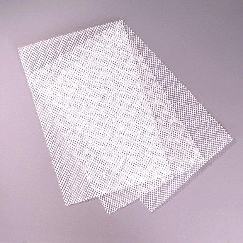 Gitter für Drainage, Abdecknetz, 20 x 30 cm Pack. mit 3 Stück 61160