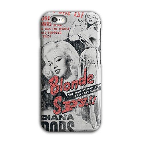 Blond Spion Mädchen Mode Bombe Spion iPhone 6 / 6S Hülle | (Leder Kostüm Spion)