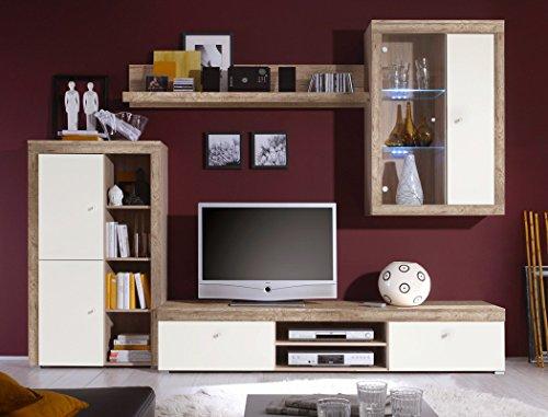 Sideboard Lamount 174x90x40cm Eiche Magnolie Design Anrichte Kommode Schubkastenschrank Schubkastenkommode Wohnzimmerschrank - 5
