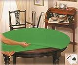 CASA TESSILE Copritavolo Poker tovaglia Rotonda Diametro cm 135