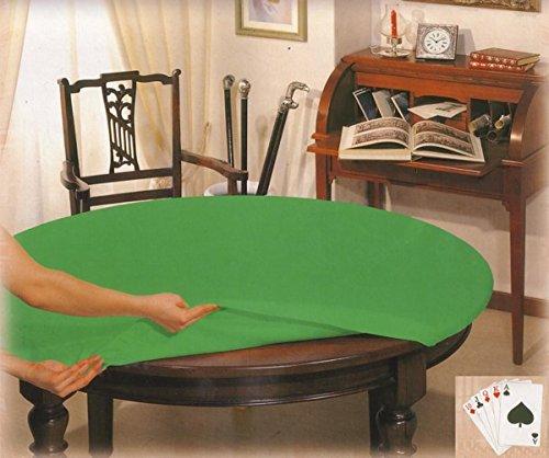 Table Cover Poker ROUND Tischdurchmesser cm 135 (Round Table Cover Elastisch)
