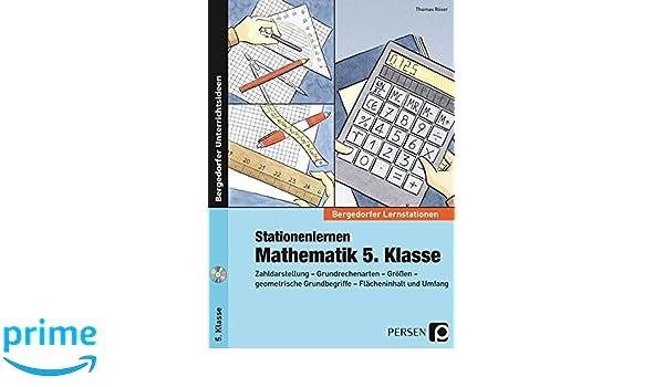 Stationenlernen Mathematik 5. Klasse: Zahldarstellung ...