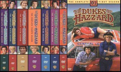 The Dukes of Hazzard - Complete Collection - Series 1 + 2 + 3 + 4 + 5 + 6 + 7