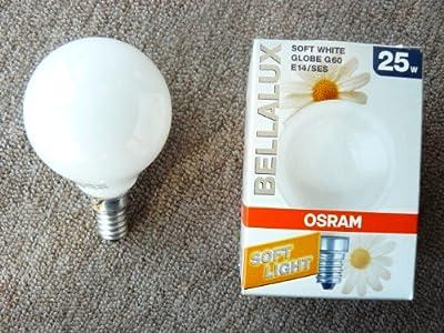 Osram Globeglühlampe Bellalux E14, D60, 25W opalweiß von Osram - Lampenhans.de