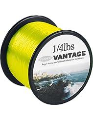 Fladen Vantage Pro - rollo de cuerda monofilamento para carretes de pesca, extra fuerte (amarillo fluorescente), 50lbs - 238m - 0.70mm