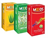 Moods Aloe 1500 Dots And Absolute Xtasy Condoms (36 Condoms)