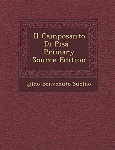 Il Camposanto Di Pisa