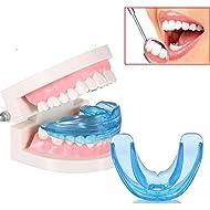 Brand New Dental Mouth Guard Bruxism Splint Night Teeth Tooth Grinding TMJ Sleep Aid (Blue)