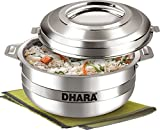 #7: Dhara Insulated Stainless Steel Hot Pot-3500ml-New