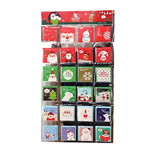 Y2y3zfal 144pcs nuova carta di carta di regalo di compleanno per la cartolina di natale personalizzata per il ringraziamento s882