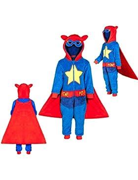 ONEZEE Boys Kids Infant Superhero Onezee regalo disfraz para niños Jumpsuit Novelty