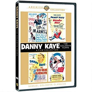 Danny Kaye Collection Wonder Man/Up in Arms/The Kid From Brooklyn/A Song is Born (region 2). by Danny Kaye