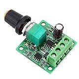 PWM Motor Drehzahlsteller Modul - SODIAL(R)Niederspannung DC PWM Motor Drehzahlsteller Modul 1.8V 3V-5V-6V 12V 2A
