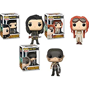 Funko POP Mad Max Fury Road Valkyrie Capable Furiosa Stylized Movie Vinyl Figure Set NEW