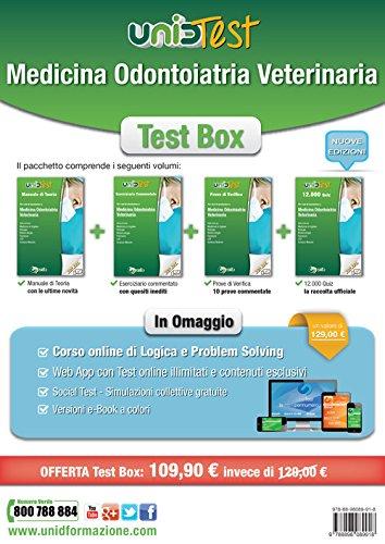 Test box medicina odontoiatria veterinaria: Manuale di teoria-Eserciziario commentato-Prove di verifica-12.000 quiz. Con aggiornamento online