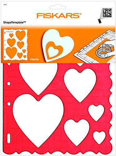 F-4855 ShapeCutter Schablone - Herzen
