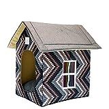 Cosanter Kuschelhöhle Katzenhöhle Hundebett Haustier Haus Haustier Pet Nest 55 x 40 x 45 cm