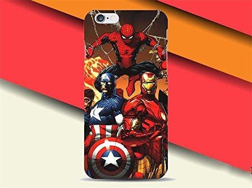 Weiche, Transparente TPU-Handyhülle for iPhone 5, iPhone 6, iphone7, 7plus & 8plus (iPhone X, Super Heroes) (Hero 6 Von Disney)