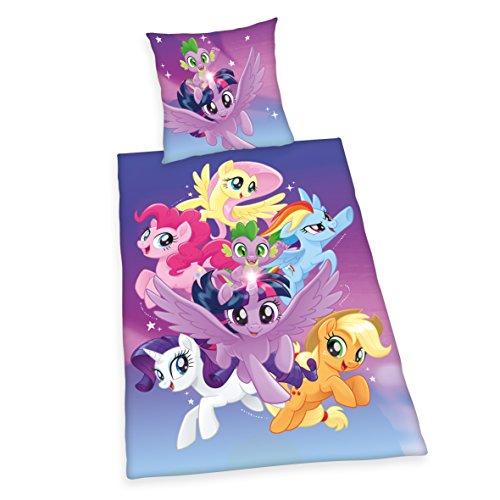 Herding Bettwäsche-Set My Little Pony, Baumwolle, Bunt, 200 x 135 cm