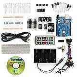 Kit Starter Iniciación con arduino UNO R3 compatible estudiante electronica practicas
