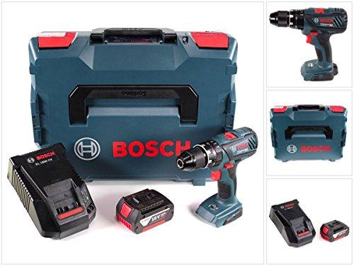Bosch GSB 18 V-28 Professional 18 V Schlagbohrschrauber in L-Boxx + 1 x 5,0 Ah Akku + Ladegerät (0615990K8P)