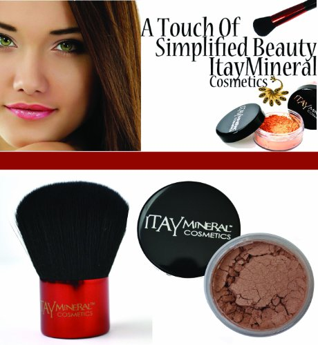 ITAY Cosmetiques Minerals: Kabuki Pinceau de Maquillage + FB1 Mineral Bronzer \\