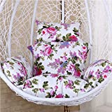 Cuscino di Oscillazione Sedia sospesa Reclinabile Seat Pad Easy to Clean Rimovibile Spessore Amaca Sedia Cuscini Comodissimo,Color9