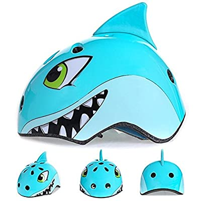 Multi-Sports Safety Helmet Children 3D Cute Animals Design Cartoon Adjustable Bicycle Helmets for Kids Boys Girls Cycling/Skateboard/Bike/Skating/Climbing Suitable Ages 3-8 Years Old by Belucky