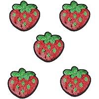 kleiner Apfel Aufbügler Aufnäher Bügelbild Patch Sticker obst gemüse applikation