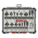 Bosch Professional 2607017471 Set (Legno, per frese Verticali con Stelo da 6 mm)