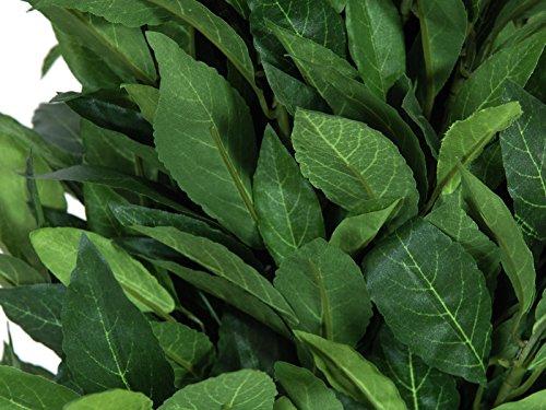 artplants Künstlicher Lorbeerkegelbaum Giuseppe, hochstamm, grün, 150 cm – Lorbeer künstlich/Deko Baum